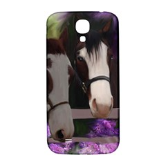 Two Horses Samsung Galaxy S4 I9500/i9505  Hardshell Back Case by JulianneOsoske