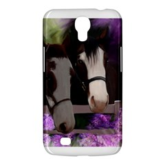 Two Horses Samsung Galaxy Mega 6 3  I9200 Hardshell Case by JulianneOsoske