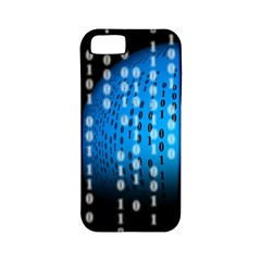 Binary Rain Apple Iphone 5 Classic Hardshell Case (pc+silicone)