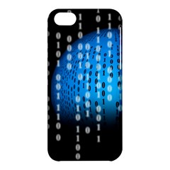 Binary Rain Apple Iphone 5c Hardshell Case