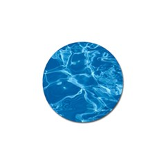 Water  Golf Ball Marker 4 Pack
