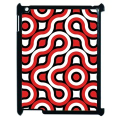 Waves And Circles Apple Ipad 2 Case (black)