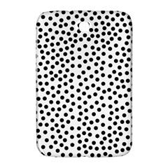 Black Polka Dots Samsung Galaxy Note 8 0 N5100 Hardshell Case  by Justbyjuliestore
