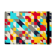 Colorful Shapes Apple Ipad Mini Flip Case by LalyLauraFLM
