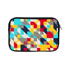 Colorful Shapes Apple Ipad Mini Zipper Case by LalyLauraFLM