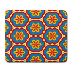 Floral Pattern Large Mousepad by LalyLauraFLM
