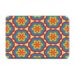 Floral Pattern Small Doormat by LalyLauraFLM