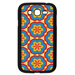 Floral Pattern Samsung Galaxy Grand Duos I9082 Case (black) by LalyLauraFLM