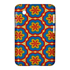 Floral Pattern Samsung Galaxy Tab 2 (7 ) P3100 Hardshell Case  by LalyLauraFLM