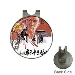 Shao Lin Ta Peng Hsiao Tzu D80d4dae Hat Clip With Golf Ball Marker by GWAILO
