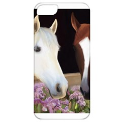 Friends Forever Apple Iphone 5 Classic Hardshell Case by JulianneOsoske