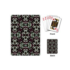 Geometric Grunge Playing Cards (mini) by dflcprints