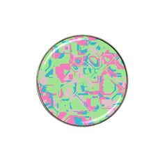Pastel Chaos Hat Clip Ball Marker (4 Pack)