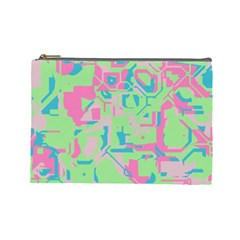 Pastel Chaos Cosmetic Bag (large)