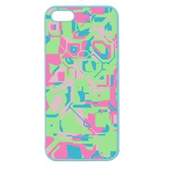 Pastel Chaos Apple Seamless Iphone 5 Case (color) by LalyLauraFLM