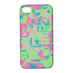 Pastel Chaos Apple Iphone 4/4s Hardshell Case With Stand by LalyLauraFLM