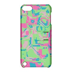 Pastel Chaos Apple Ipod Touch 5 Hardshell Case With Stand by LalyLauraFLM