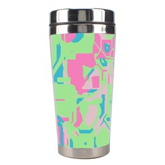 Pastel Chaos Stainless Steel Travel Tumbler by LalyLauraFLM
