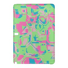 Pastel Chaos Samsung Galaxy Tab Pro 12 2 Hardshell Case by LalyLauraFLM