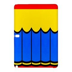 Colorful Curtain 	samsung Galaxy Tab Pro 12 2 Hardshell Case by LalyLauraFLM
