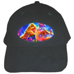 Cosmic Mind Black Baseball Cap by icarusismartdesigns
