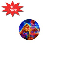 Cosmic Mind 1  Mini Button (10 Pack) by icarusismartdesigns