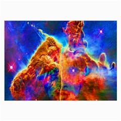 Cosmic Mind Glasses Cloth (large, Two Sided) by icarusismartdesigns