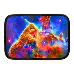 Cosmic Mind Netbook Sleeve (medium) by icarusismartdesigns
