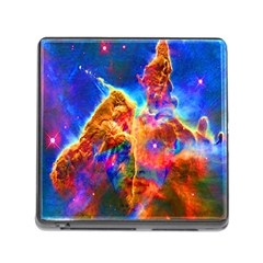 Cosmic Mind Memory Card Reader With Storage (square) by icarusismartdesigns