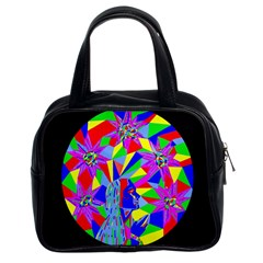 Star Seeker Classic Handbag (two Sides) by icarusismartdesigns