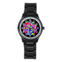 Star Seeker Sport Metal Watch (black) by icarusismartdesigns