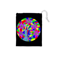 Star Seeker Drawstring Pouch (small) by icarusismartdesigns