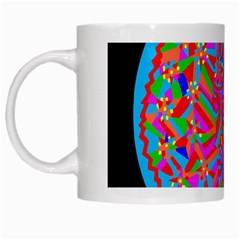Magical Trance White Coffee Mug by icarusismartdesigns