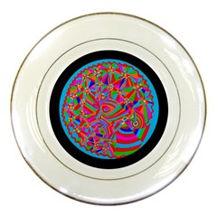 Magical Trance Porcelain Display Plate by icarusismartdesigns