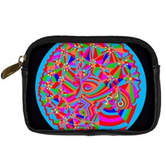 Magical Trance Digital Camera Leather Case