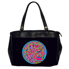 Magical Trance Oversize Office Handbag (two Sides) by icarusismartdesigns