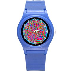Magical Trance Plastic Sport Watch (small) by icarusismartdesigns