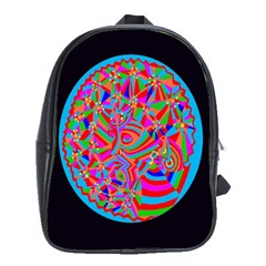 Magical Trance School Bag (xl) by icarusismartdesigns