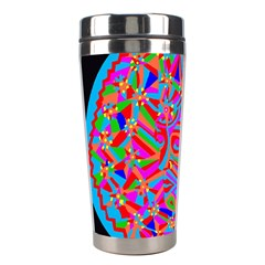 Magical Trance Stainless Steel Travel Tumbler by icarusismartdesigns