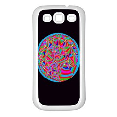 Magical Trance Samsung Galaxy S3 Back Case (white) by icarusismartdesigns