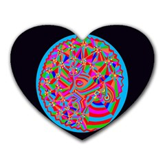 Magical Trance Mouse Pad (heart)