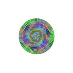 Hypnotic Star Burst Fractal Golf Ball Marker 10 Pack by StuffOrSomething