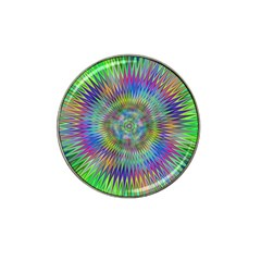 Hypnotic Star Burst Fractal Golf Ball Marker 10 Pack (for Hat Clip) by StuffOrSomething