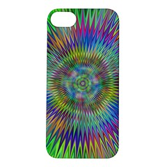 Hypnotic Star Burst Fractal Apple Iphone 5s Hardshell Case by StuffOrSomething