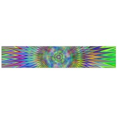 Hypnotic Star Burst Fractal Flano Scarf (large) by StuffOrSomething