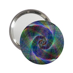 Psychedelic Spiral Handbag Mirror (2 25 ) by StuffOrSomething
