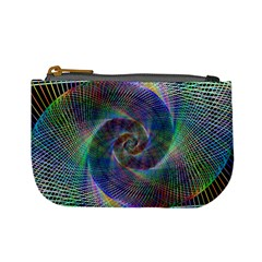 Psychedelic Spiral Coin Change Purse by StuffOrSomething