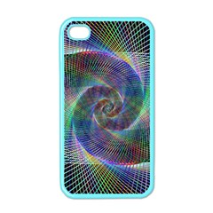 Psychedelic Spiral Apple Iphone 4 Case (color)