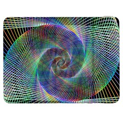 Psychedelic Spiral Samsung Galaxy Tab 7  P1000 Flip Case by StuffOrSomething