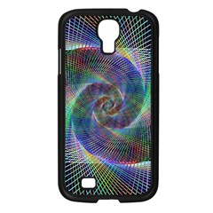 Psychedelic Spiral Samsung Galaxy S4 I9500/ I9505 Case (black) by StuffOrSomething